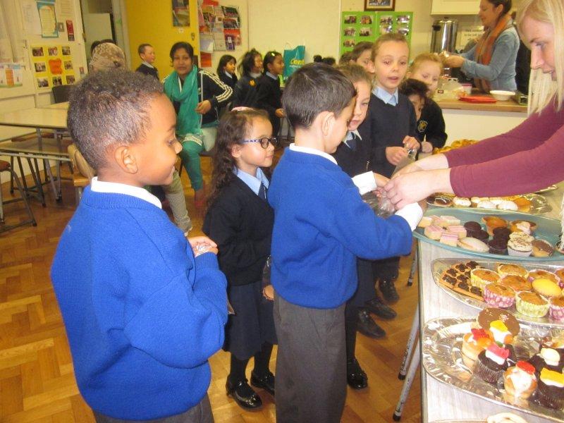 school cake sale